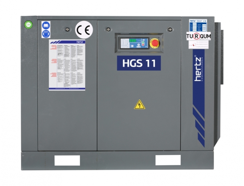 Sprężarki śrubowe HGS 2-15 | 2.2 kW-15 kW