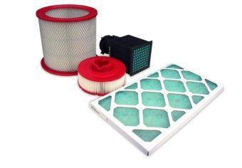 Filtry powietrza kompresora śrubowego