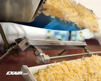 Zastosowanie noża powietrznego w przemyśle spożywczym