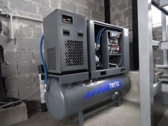 Sprężarki śrubowe HGS Compact 2.2 kW-15 kW