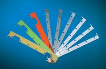 Podkładki do regulacji siły odmuchu w nożu powietrznym