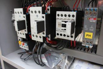 Sprężarka HGS szafa elektryczna