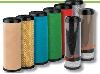 Elementy filtracyjne do filtrów sprężonego powietrza AF