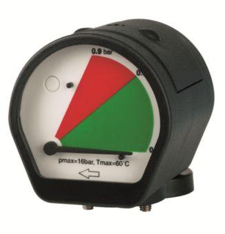 Wskaźnik różnicy ciśnienia MDM 60 do filtra sprężonego powietrza AF