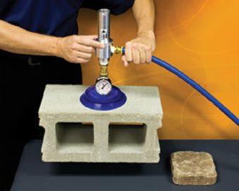 Jednostopniowa konstrukcja generatora E-Vac eliminuje wahania podciśnienia.
