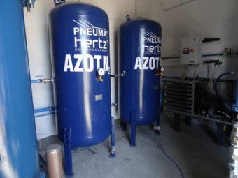 Zbiorniki azotu