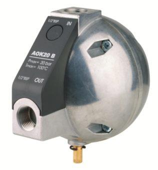 Dren pływakowy AOK 20B pod filtr sprężonego powietrza serii CF