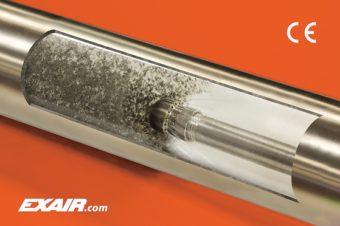 Dysza ta zapobiega wdmuchiwaniu wiórów w głąb rury lub poza koniec rury.