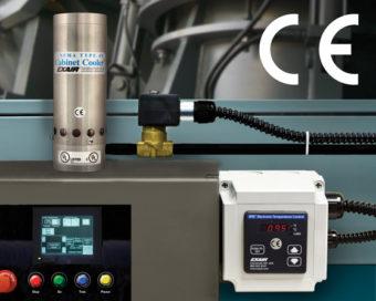 Elektroniczny sterownik temperatury ETC dokładnie utrzymuje stałą temperaturę wewnątrz obudowy.