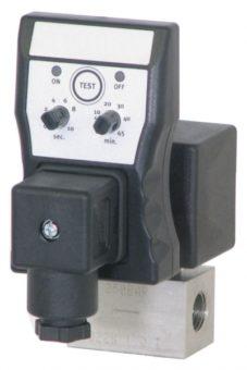 Elektryczny dren kondensatu Fluiddrain pod filtr sprężonego powietrza serii HPF