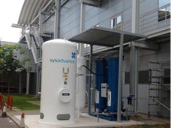 Generator azotu N150 - wzorcowa instalacja