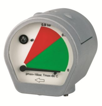 MDM 60 wskaźnik różnicy ciśnienia z LED