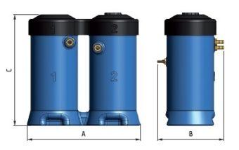 Separatory kondensatu WOS wymiary