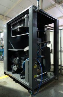 Sprężarka śrubowa Hertz HSC Frecon Plus - niezawodna konstrukcja, komponenty najwyższej jakości