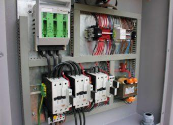 Sprężarka HSC szafa elektryczna