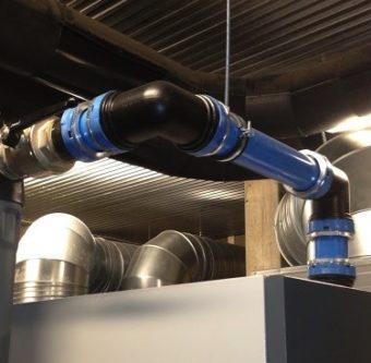 System rurowy Eqofluids do sprężonego powietrza