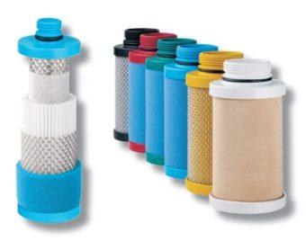 Wkłady filtrów sprężonego powietrza do obudowy filtra CF
