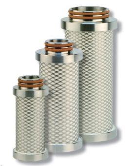 Wkłady filtrów sprężonego powietrza do obudowy filtra SF