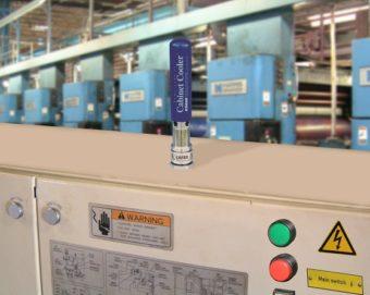 Chłodnice szaf sterowniczych o mocy chłodniczej 2.800 BTU/h są dostępne do dużych obudów i dużych obciążeń cieplnych.