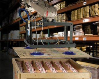 Liniowy generator podciśnienia E-Vac zapewnia bezpieczną pracę poprzez brak zasilania elektrycznego.