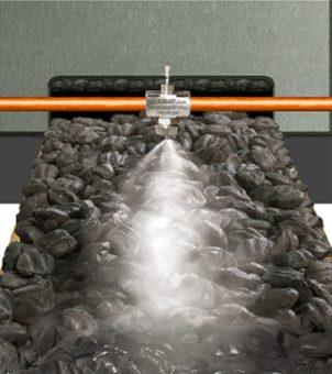 Zastosowanie w ograniczaniu zapylenia podczas produkcji brykietu węgla drzewnego.