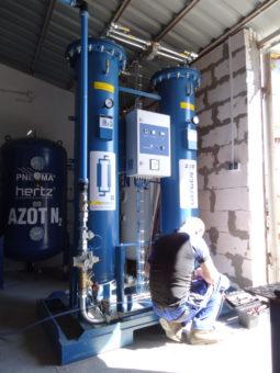 Montaż i serwis generatorów azotu i tlenu