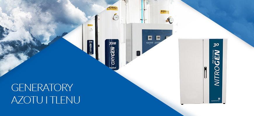 Generatory azotu i tlenu