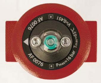 Kierunek przepływu powietrza w filtrze pneumatycznym