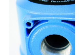 Konstrukcja z aluminium zapewnia bezpieczne działanie pompy próżniowej