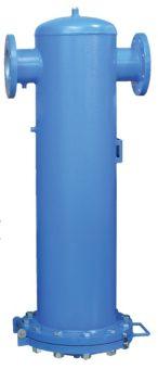 Filtr sprężonego powietrza z przyłączem kołnierzowym do 50 bar