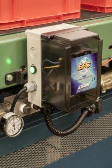 Elektroniczny sterownik przepływu powietrza jest łatwy w montażu