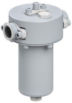 Lubrykator ze stali nierdzewnej odpowiedni do sprężonego powietrza i do gazów