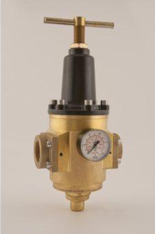 "Regulator R130 – R130/2"" brass - seria standard"