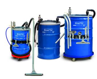Dostępne są różne warianty pojemności pneumatycznej pompy beczkowej