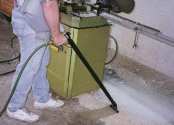 Odkurzacz ręczny pneumatyczny może pełnić funkcję standardowego odkurzacza