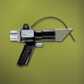 Ręczny odkurzacz posiada funkcję zasysania lub wydmuchiwania