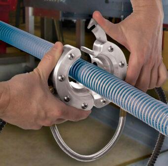 Łatwy montaż dyszy pierścieniowej jonizującej