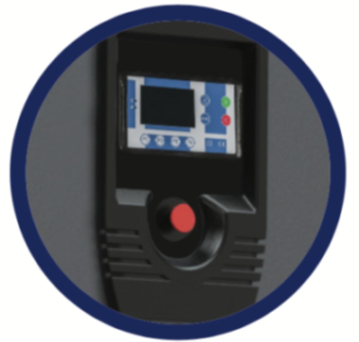 Sterownik elektroniczny Logik 33S bezolejowej sprężarki śrubowej